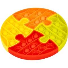 4조각 푸쉬 팝 퍼즐 - 동그라미