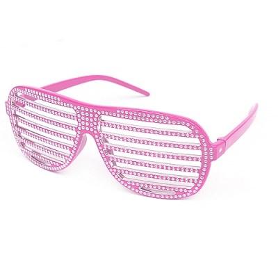 큐빅 셔터쉐이드안경[핑크]