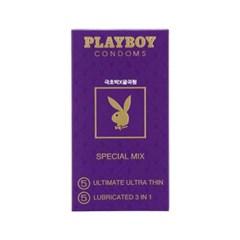 [플레이보이] 스페셜믹스 콘돔 10P