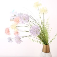 고속터미널꽃시장 민들레조화 60cm 시들지않는꽃_(375794)