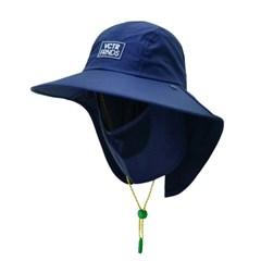[캠핑/물놀이모자]자외선차단 UV 페이스 플랩캡_딤네이비