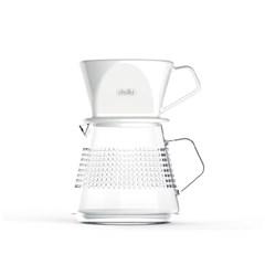 델키 핸드드립세트 드리퍼+서버 1~4인용 커피추출