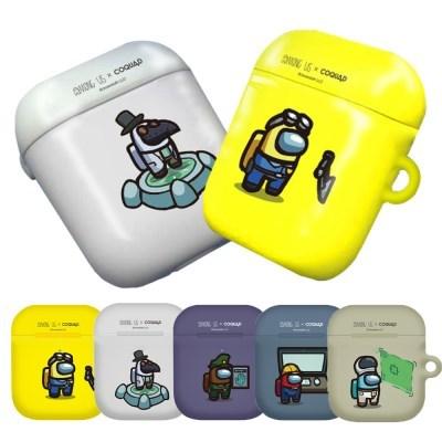 CQD 어몽어스 에어팟 1세대2세대 공용 하드 플레이 케이스 임포스터