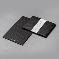 블랙&블랙 미니메세지세트