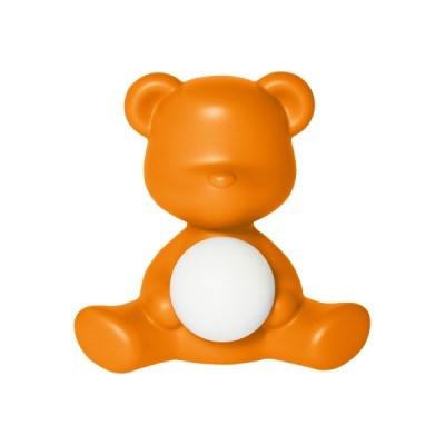 [퀴부 Qeeboo] 퀴부 테디걸 램프 오렌지