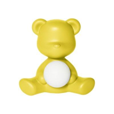 [퀴부 Qeeboo] 퀴부 테디걸 램프 옐로우