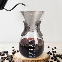 커피 핸드 드립 세트 시노글라스 셀렉트 400ml 800ml