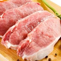 국내산 냉장 돼지고기 안심 스테이크용 300g 한근