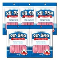 Dr.Sheem 오랄후레쉬 딸기 덴탈껌 180g 5개 묶음