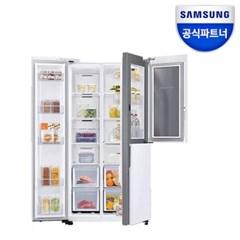 인증점 삼성 양문형냉장고 RS84T5071WW 푸드쇼케이스