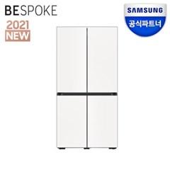 공식파트너 비스포크 키친핏 냉장고 RF60A91C301 코타화이트