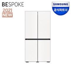 공식파트너 비스포크 냉장고 RF85A910301 코타화이트