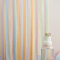 [빛나파티]파스텔 스트리머 5색 100m 세트 Pastel Streamer Backdrop