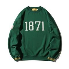 1871 Numbering Sweatshirt(GREEN)