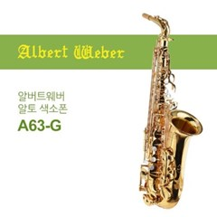 알버트웨버 A63-G 알토 색소폰