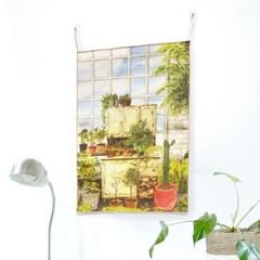 패브릭 포스터/캔버스액자 - 오래된 정원