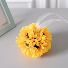 해바라기볼 11cmP 조화 꽃 인테리어 장식 소품 FMWGFT