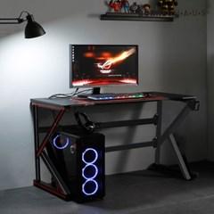 엘리브 리프 PC 게이밍 컴퓨터 책상 1000 K형 ch059