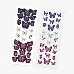 Mono Butterfly Sticker