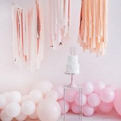 [빛나파티]블러쉬 핑크, 로즈골드 스트리머 320m 세트