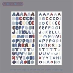 ABC Sticker - Winter