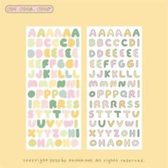 ABC Sticker - Spring
