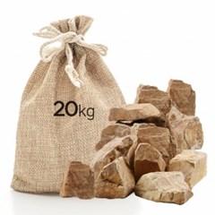 미미네스톤 세척 목문석 20kg 전후 (크기모양랜덤)_(1301804)