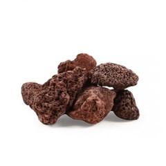 미미네스톤 세척 화산석 레드 1kg 전후(크기모양랜덤)_(1301791)