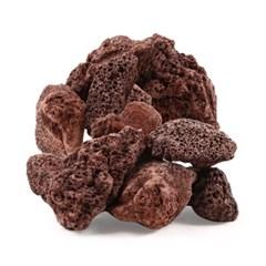 미미네스톤 세척 화산석레드 5kg 전후 (크기모양랜덤)_(1301789)