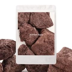 미미네스톤 세척 화산석 레드 5개입(5~15cm)_(1301786)