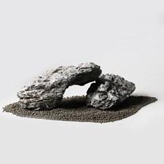미미네스톤 산처리 청룡석 3개 (20cm이상, 10kg 전후)_(1301780)