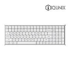 iQUNIX F96 RGB KAT 무선 기계식키보드 영문