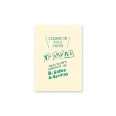 B-Sides & Rarities Accordion Fold Paper 패스포트