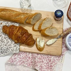 케이블랑 잔꽃 키친크로스 행주 테이블매트