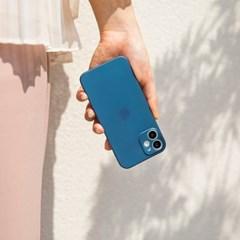 끼움 아이폰 12 슬림 케이스 zero03 블루에디션