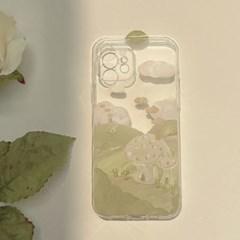 아이폰 케이스 12 11 프로 맥스 미니 스케치 투명