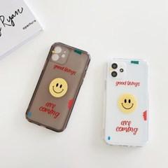 아이폰 케이스 12 11 프로 맥스 미니 X 8 7 스마일