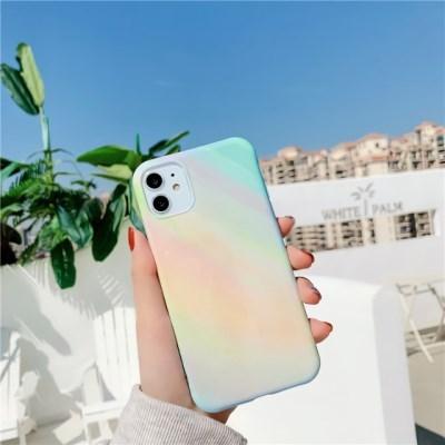 아이폰 케이스 12 11 프로 맥스 미니 X 8 7 파스텔