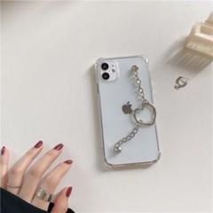 아이폰 케이스 12 11 프로 맥스 미니 심플 체인 하트