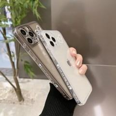 아이폰 케이스 12 11 프로 맥스 미니 X 8 7 해피 하트