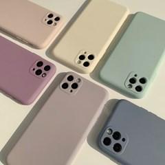 아이폰 케이스 12 11 프로 맥스 미니 X 8 밀키 소프트