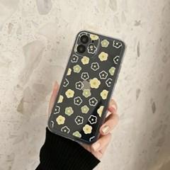 아이폰 케이스 12 11 프로 맥스 미니 X 8 미니 플라워