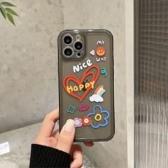 아이폰 케이스 12 11 프로 맥스 미니 X 8 7 해피