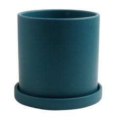 미미네가든 유럽풍 모던 색컬러 화분 (딥블루) - 14cm_(1302107)