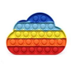 푸쉬버블 실리콘 피젯 톡톡 푸쉬팝 버블게임 구름
