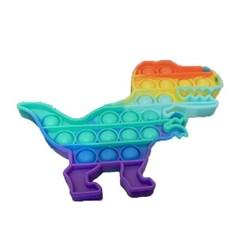 푸쉬버블 실리콘 피젯 톡톡 푸쉬팝 버블게임 공룡