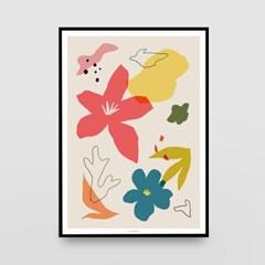 일러스트 포스터 / 인테리어 액자_abstraction 03