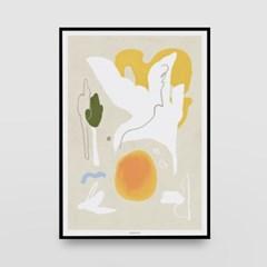 일러스트 포스터 / 인테리어 액자_abstraction 02