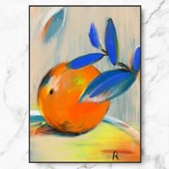 인테리어 액자 Orange Painting_(2683305)