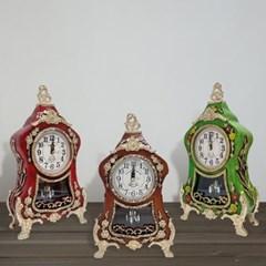 클래식 디자인 인테리어 황실 탁상 시계 중형